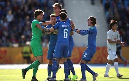 Italia-Giappone U20 0-0: azzurrini 1° nel girone