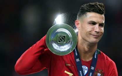 Ronaldo, Nations da record: 30° trofeo in carriera