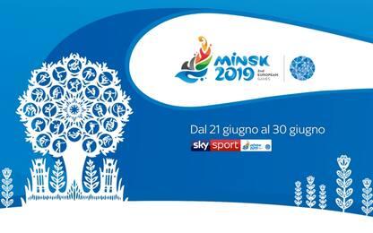 European Games Minsk: da oggi live su Sky Sport