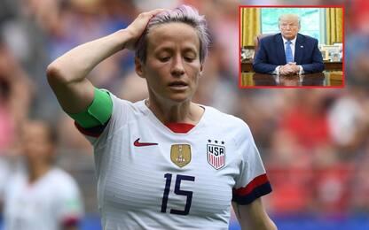 """Rapinoe: """"Non vado alla Casa Bianca"""". E Trump..."""