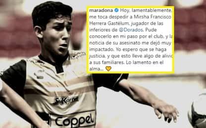 Dorados, morto Herrera. Maradona chiede giustizia