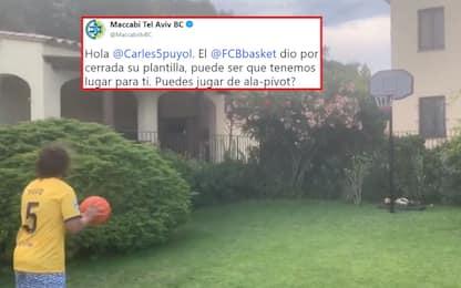 Puyol incanta a basket, arriva offerta del Maccabi
