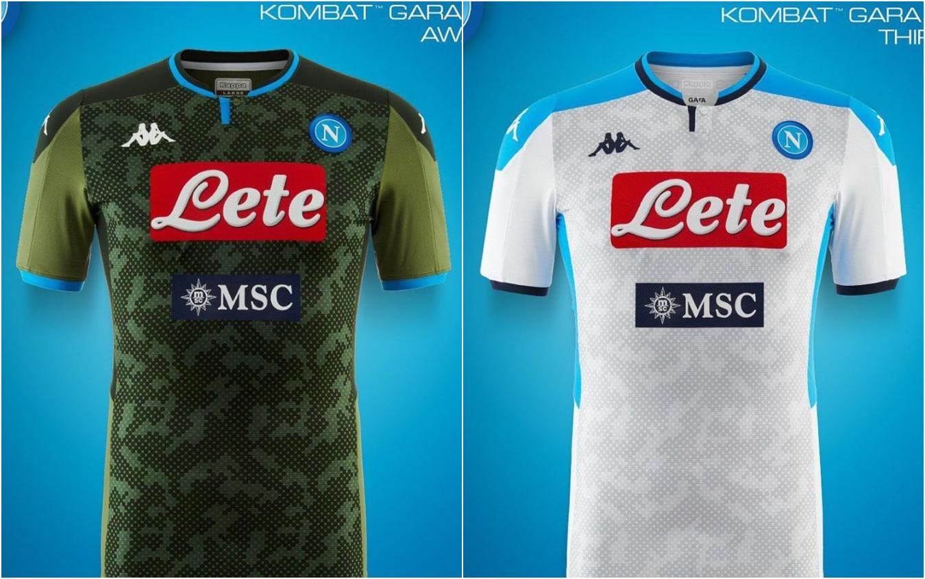 Napoli, svelata seconda e terza maglia 2019 2020. FOTO | Sky Sport