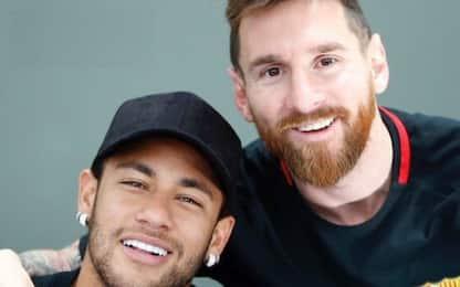 """Neymar: """"Voglio tornare a giocare con Messi"""""""