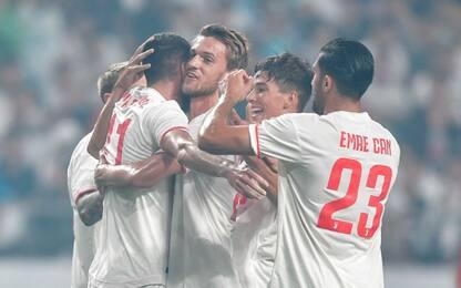 Juve, pareggio show a Seoul: 3-3 col Team K-League