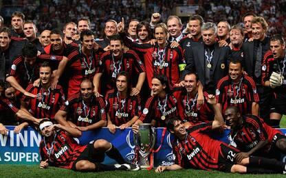 Supercoppa Europea, albo d'oro: Milan in testa