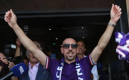 Dal calore dei fan alla firma. FOTO del Ribery-Day