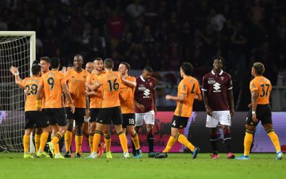 I Wolves puniscono il Torino, l'andata finisce 3-2