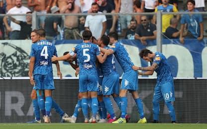 La Gumina su rigore, Empoli batte Juve Stabia 2-1