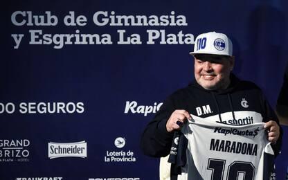 Maradona, presentazione show al Gimnasia! Le FOTO