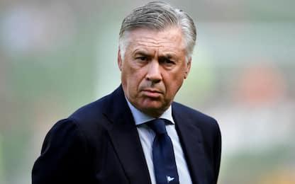 """Ancelotti: """"Spogliatoi non pronti, sono indignato"""""""