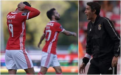 Benfica senza ritiro, si usa bracciale elettronico