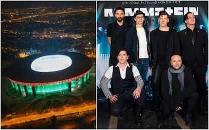 Budapest metal: Rammstein a palla per un guasto