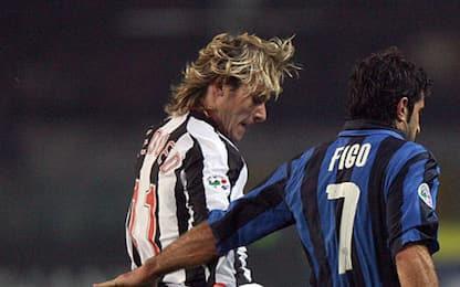 Inter-Juve, quando la sfida 'vale' lo scudetto