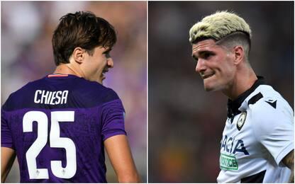 Probabili formazioni di Fiorentina-Udinese