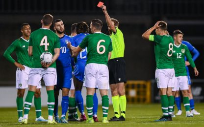 2 rossi e nessun gol, 0-0 tra Irlanda e Italia U21