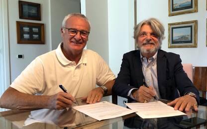 Samp, ufficiale Ranieri: accordo fino al 2021