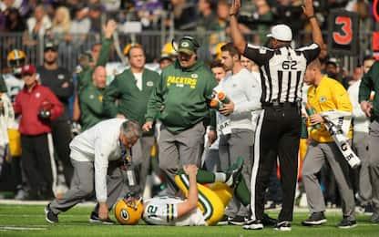 NFL, Rodgers ko: stagione finita per Green Bay?