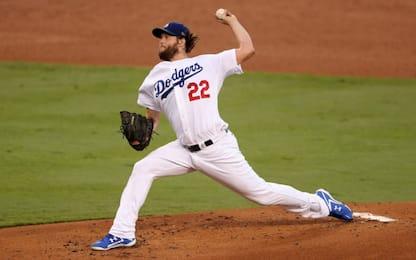 World Series, Kershaw trascina i Dodgers in gara-1