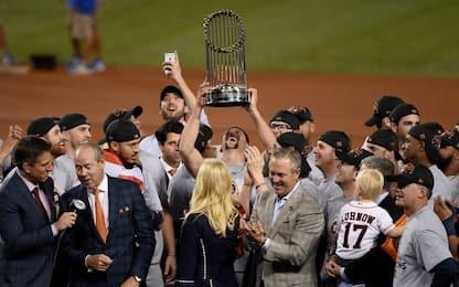 World Series: Dodgers ko, primo titolo per Houston