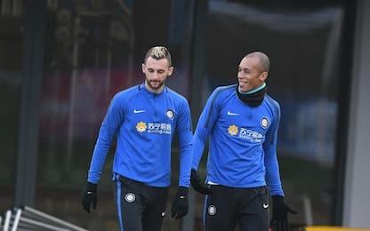 Inter, Miranda ok per la Roma. D'Ambrosio spera