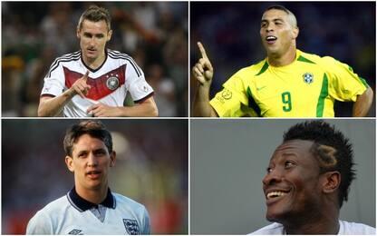 1986-2018: i migliori attaccanti dei Mondiali