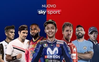 La guida al nuovo Sky Sport