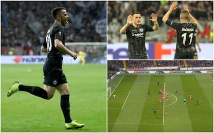 Kostic, gol in super fuorigioco: Orsato convalida