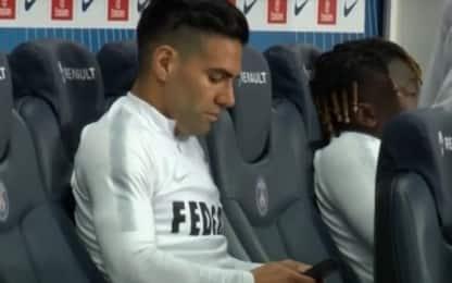"""Falcao, cellulare in panchina. Monaco: """"Si curava"""""""