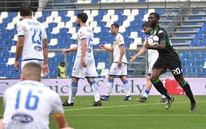 Parma-Samp 3-3 e Sassuolo-Frosinone 2-2