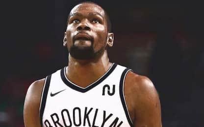 Kevin Durant passa ai Brooklyn Nets