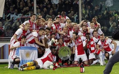 Supercoppa d'Olanda all'Ajax: PSV sconfitto 2-0