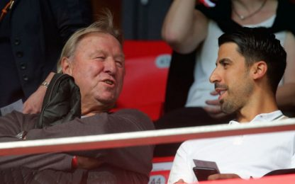 Khedira all'Emirates, c'è l'Arsenal nel futuro?