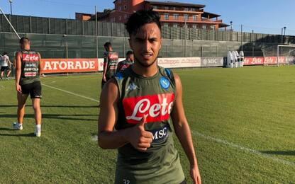 Ounas lascia Napoli, prestito con diritto al Nizza