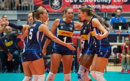 Europei: 3-0 alla Slovacchia, l'Italia è ai quarti