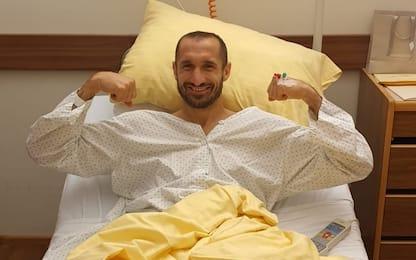 Chiellini operato, tornerà in campo tra 6 mesi