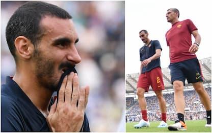 La Roma perde Zappacosta: out almeno 3 settimane