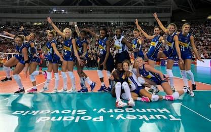 Italvolley da urlo, è in semifinale all'Europeo