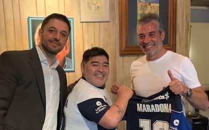 "Maradona riparte dal Gimnasia: ""Sono felice"""