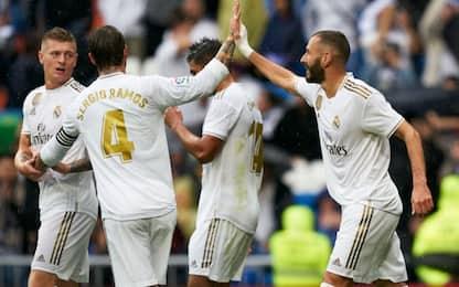 Il Real torna a vincere ma soffre: 3-2 al Levante