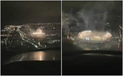 River Plate-Boca Juniors vista dall'alto: VIDEO