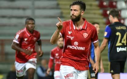 Il Perugia vola con Iemmello, Pisa battuto 1-0