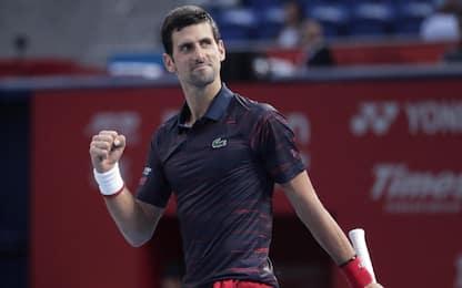 Djokovic vince a Tokyo: 76° titolo per il serbo