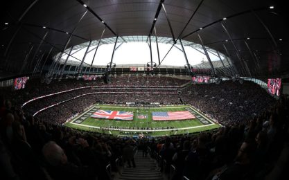 Nfl a Londra, storica prima volta a casa Tottenham