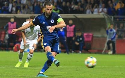 Euro qualifiers, bis di Pjanic: tutti i risultati
