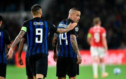 Radja-Icardi, l'Inter batte il Psv in rimonta: 2-1