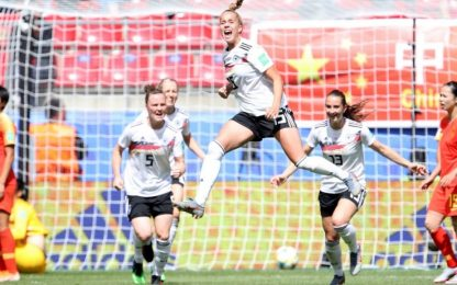 La Germania comincia bene i Mondiali, Cina ko 1-0