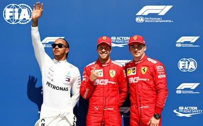 Montreal, griglia di partenza nel segno di Vettel