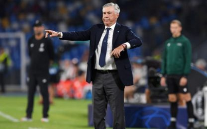 "Ancelotti: ""Vinta partita sporca, bene in difesa"""