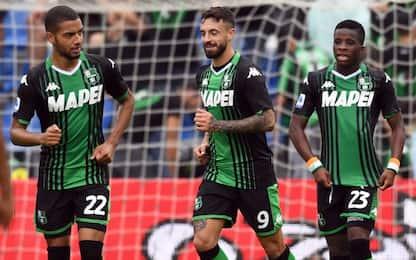 Sassuolo-show con la Spal: 3-0, doppietta Caputo
